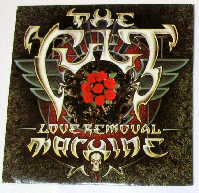 THE CULT - LOVE REMOVAL MACHINE - WOLF CHILD'S BLUES - 45gg 7