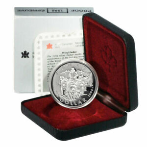 Canada 1994 Dogsled Team Double Dollar Proof Set