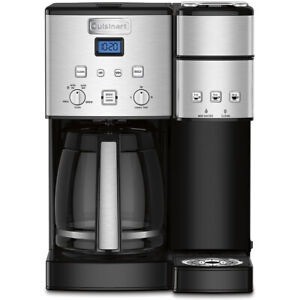 Cuisinart-12-Cup-Coffeemaker-and-Single-Serve-Brewer