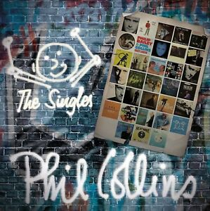 PHIL-COLLINS-2-CD-THE-SINGLES-GREATEST-HITS-BEST-OF-GENESIS-NEW