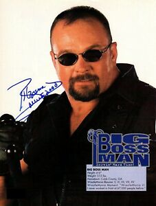 Big-Boss-Man-WWE-WWF-Autographed-Signed-8x10-Photo-REPRINT
