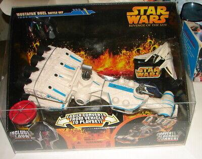 STAR WARS Micro Machines Mustafar Lava Battle Playset Tantive Blockade Runner