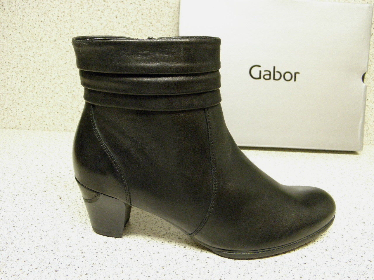 Gabor ®  SALE bisher 139,95   schwarz (D680)  Gr. 40