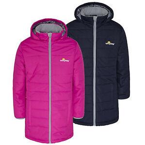 4f3c0635c Wetplay Girls Padded Waterproof Jacket Coat Puffa Insulated Childs ...