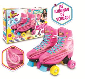 Soy-Luna-Disney-Light-Up-Roller-Skates-Original-TV-Series-2017-Size-38-39-7-25-5