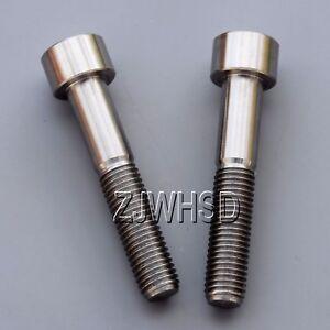 2pcs M8 x 40 Titanium Ti Screw Bolt Allen hex Socket Cap head Aerospace Grade
