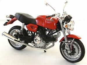 Ducati Gt 1000 Red Motorcycle 118 Gt1000 Naked Cafe Racer