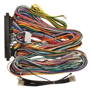 Details about Jamma Plus Board Full Cabinet Wiring Harness Loom for on warping a 4 harness loom, electric harness for loom, wiring loom sleeve,