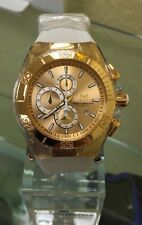 """Technomarine TM-115046 """"NEW 2016 COLLECTION"""" Cruise Star Gold Dial Watch"""