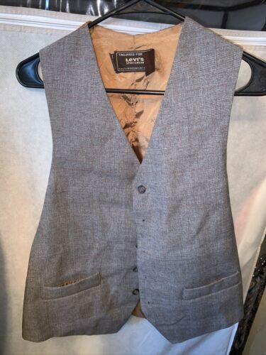 Levi's Sportswear Vest Action Suit Sz ?? Vintage Q
