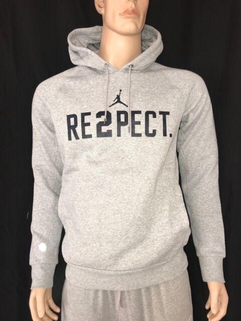 181bea4aee1 Nike Jordan New York Yankee's Derek Jeter Re2pect Retirement Hoodie Grey  Gray