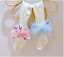 miniatuur 6 - Baby Girls Kids Lace Tutu Flower Bows Elsa Party Costume Tights Newborn Toddler