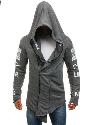 Kapuzenpullover Sweatjacke Sweatshirt Hoodie Print Herren Mix BOLF 1A1 Motiv