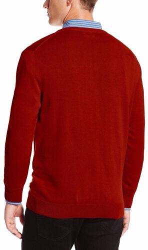 NEW Mens IZOD Doubleface Fine Gauge V-Neck Sweater MSRP $55
