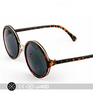 Round Framed Fashion Glasses : Round Circle Frame Sunglasses Gold Framed Glasses Classic ...