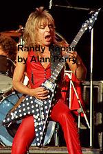 "Randy Rhoads - 12""*8"" concert photo Port Vale 1981"