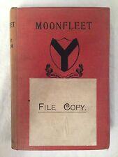J Meade Falkner, Moonfleet, Popular Ed 1916 Edward Arnold, Publisher's File Copy