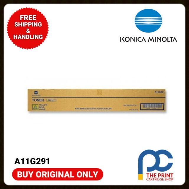 New & Original Konica Minolta A11G291 Yellow toner bizhub C220 C280 TN216Y