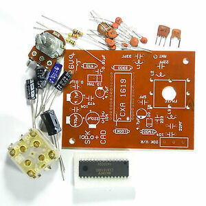 Details about Student Project Easy FM Radio Circuit Kit 88-108MHz with  Amplifier & PCB CXA1619