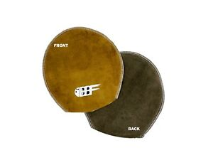 New-Bowlingballfactory-Leather-Deluxe-Brown-Bowling-Ball-Shammy-Mitt-Pad-Towel