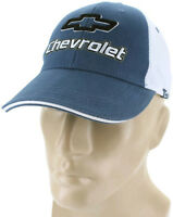 Chevrolet Mesh Blue Baseball Cap Trucker Hat Snapback Camaro Ss Impala