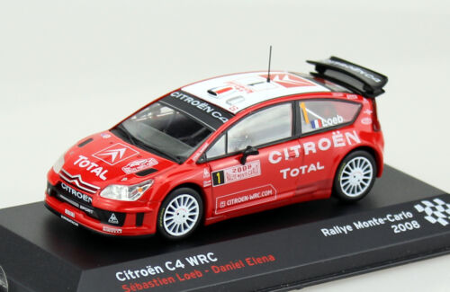 Citroen C4 WRC Rally 2008 #1 1:43 Ixo//Altaya Modellauto BBB