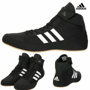 9c43469d0fa Image is loading Adidas-Wrestling-Shoes-Boxing-MMA-Shoes-Black-AQ3325-
