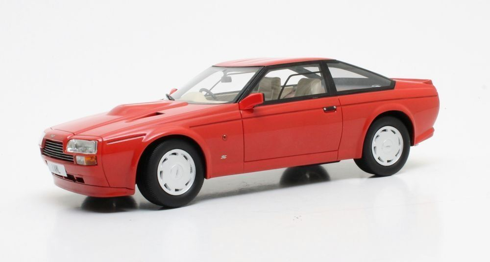 Aston Martin Zagato Coupe , 1986, red 1 18 Scale