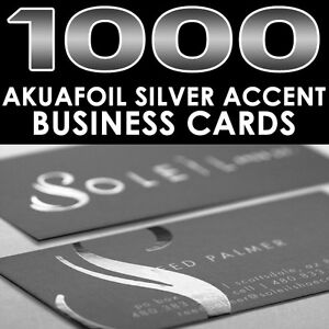 Personalized silver foil accent 1000 full color glossy akuafoil image is loading personalized silver foil accent 1000 full color glossy colourmoves