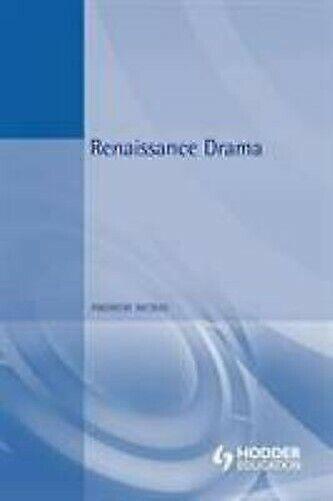 Renaissance Drama von Mcrae, Andrew