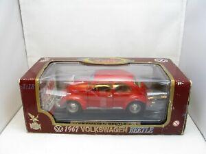 Road Legends 1:18 Collection Die Cast Metal ~ 1967 Volkswagen Beetle