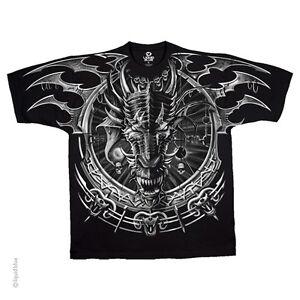 Fantasy Ocean Blue Dragons Sizes S-5X NEW Sea Dragon T-Shirt by The Mountain
