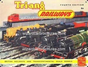TRAIN-RAILWAY-MODEL-TRANS-CONTINENTAL-TRIANG-400mm-x-300mm-STEEL-SIGN-NOT-TIN