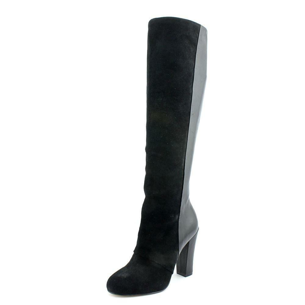 Joan and David 'Dasequel' Leather Knee-High Boots Boots Boots Black - Size 6.5M 1291c7