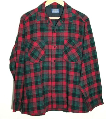 Pendleton pure virgin wool flannel shirt medium