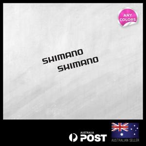 SHIMANO-Xtra-Small-Decal-80x10mm-Fishing-Bike-Sticker-Vinyl-JDM-Window-Laptop
