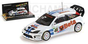 MINICHAMPS-400-078446-Ford-Focus-RS-WRC-model-car-Rossi-Cassina-Monza-2007-1-43