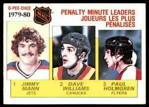 1980-81-O-Pee-Chee-Paul-Holmgren-Jimmy-Mann-Tiger-Williams-164