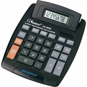 New-Jumbo-Desktop-Calculator-Big-Buttons-Keys-Solar-Battery-Memory-Home-Office