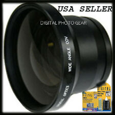 Wide Angle Macro Lens for Canon REBEL T5i T4i SL1 T1i T2i T3 T3i 50D 60D 18-55