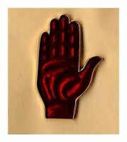 red hand of ulster enamel badge loyalist king billy rfc northern ireland scots
