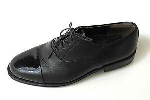 Lack Elegant Zu Uk Business 5 40 6 Excellent Schnürer Top Schuhe Schwarze Herren Details QdChrst