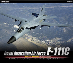 1-48-Royal-Australian-Air-Force-F-111C-12220-ACADEMY-HOBBY-MODEL-KITS