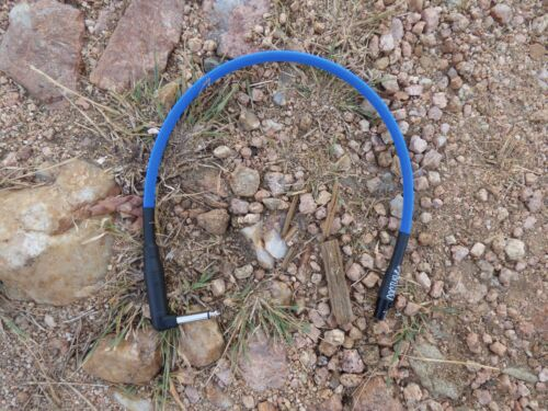 "Line 6 Relay G50 G55 G90 Wireless Cable Upgrade Replacement 18"" Neon Blue New"