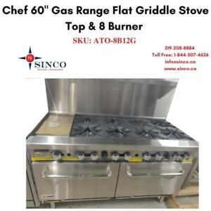 Buy Reliable & Affordable CHEF 60 Gas Range Stove top with 8 Burner Canada Preview