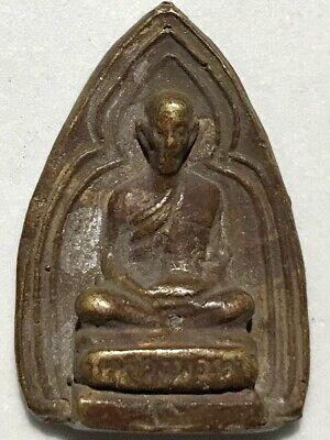 PHRA KRUNUNG LP RARE OLD THAI BUDDHA AMULET PENDANT MAGIC ANCIENT IDOL#5