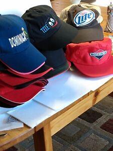 Lot-of-24-Baseball-Caps-Hat-Various-Makes-Various-advertising
