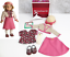 American-Girl-18-034-Doll-KIT-039-S-SCHOOL-SKIRT-SET-Hat-Shoes-Dress-Clothes-Outfit-NEW thumbnail 1