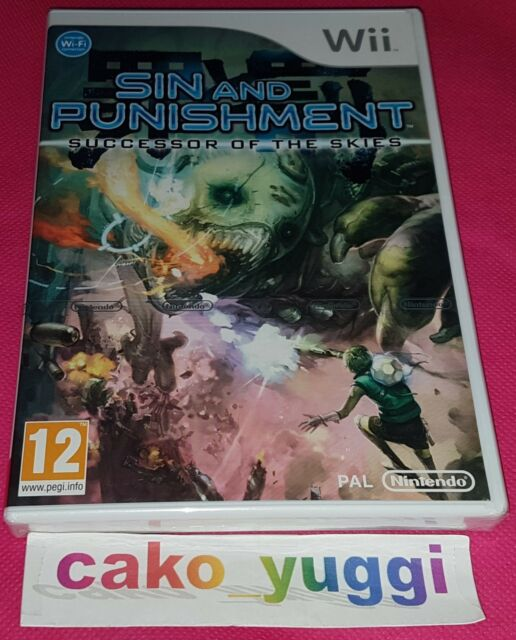 SIN AND PUNISHMENT SUCCESSOR OF THE SKIES NEUF NINTENDO WII VERSION FRANCAISE