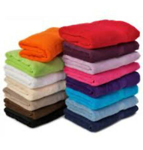24 Bath Towels Wholesale Job Lot Offer Various Styles and Colours ALL MIXED